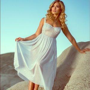 MAJORELLE x Revolve NWT Rina Sparkle Dress Plated